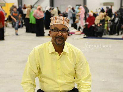 Haji Ibrahim Noor at the MAC Eid Festival