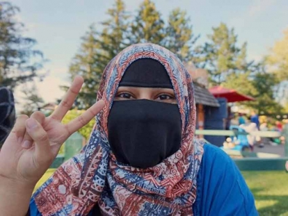 Muslim Link interviews Pakistani Canadian social media influencer Aima Warriach who wears niqab.