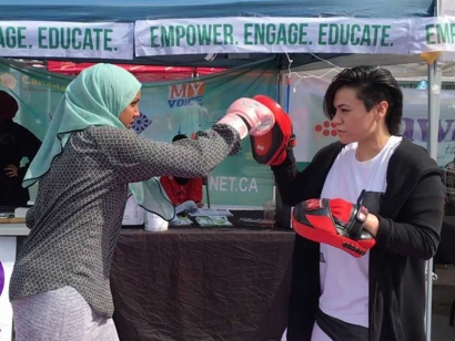 Contribute To The Sister Fit Crowdfunding Campaign To Provide Self-Defense and Martial Arts Training To Muslim Women