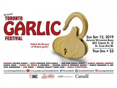 Eat Garlic and Learn More about the Diverse Cultures Who Love It at the Toronto Garlic Festival This Sunday
