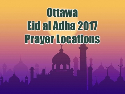 Ottawa Eid Al Adha 2017 Prayer Locations