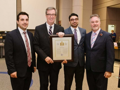 Osman Naqvi Wins Ottawa City Builder Award