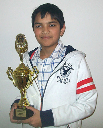 Mohammad Sindeed Islam won the 2014 Ottawa-Carleton & Valley Regional Spelling Bee