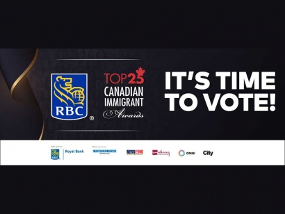 Recognizing Inspiring Immigrants in Canada: Vote in the 12th Annual RBC Top 25 Canadian Immigrant Awards