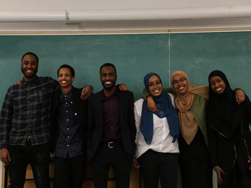 Members of Ottawa's Somali Aid Campaign