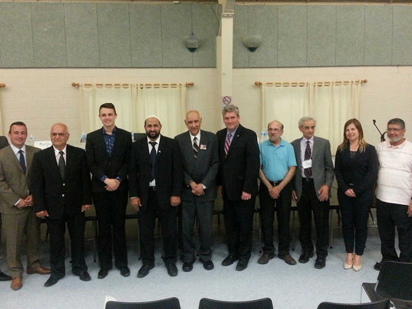 Members of the Muslim Coordinating Council and Ottawa-South Provincial Candidates