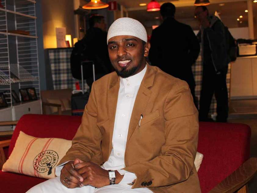 Somali Canadian Ahmed Sadiq is the co-founder and director of the Noor Conference.