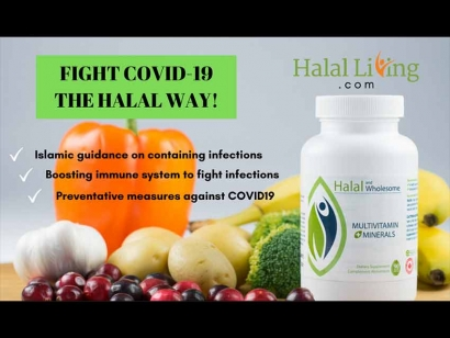 Founder's Message: Halal Living SPC is Offering Discounts on Its Vitamins and Supplements Amid COVID-19 Pandemic