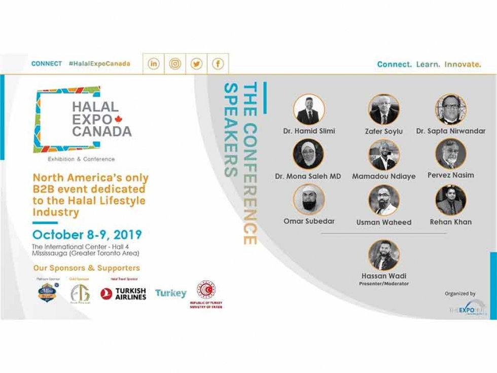 World-Class Keynote Speakers announced for Halal Expo Canada 2019 Conference