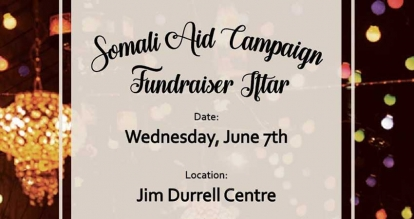 Check Out The Somali Aid Campaign Fundraiser Iftar In Ottawa on Wednesday June 7
