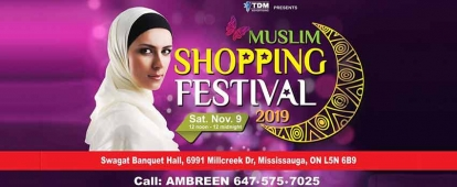 Vendors Wanted for Muslim Shopping Festival in Mississauga