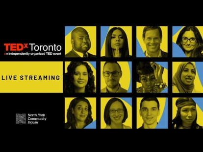 TEDxToronto Being Livestreamed at Community Organizations in the GTA on October 26