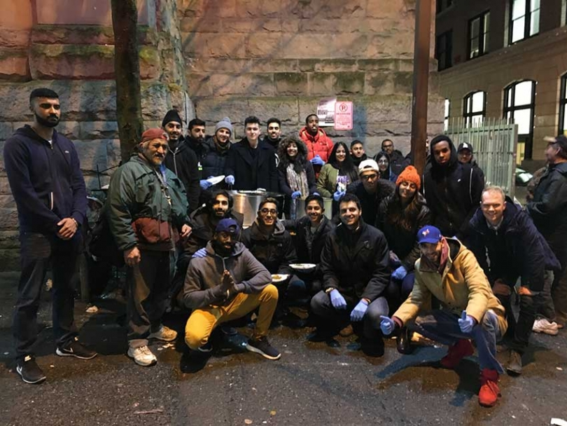 The team that helped turn a Vancouver mosque into a temporary homeless shelter