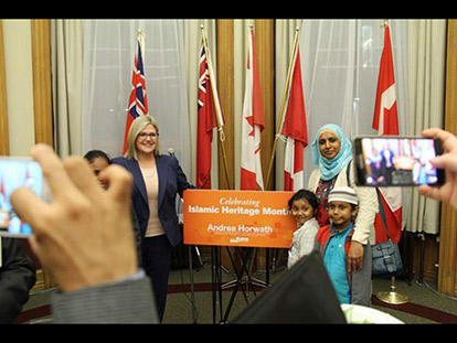 October Is Now Islamic History Month in Ontario