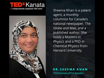 Sheema Khan on Writing Your Own Story at TEDxKanata 2016