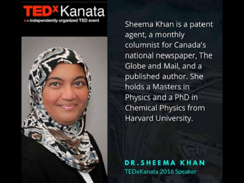 Sheema Khan on Writing Your Own Story at TEDxKanata 2016