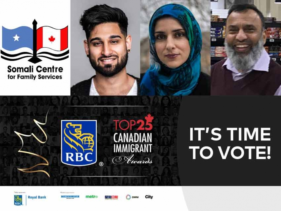 Vote for the Top 25 Canadian Immigrants and Top Settlement Agency