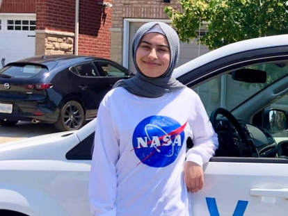 Muslimah with a NASA Internship: Milton High School Student Schanze Sial Reflects on Young Women in STEM