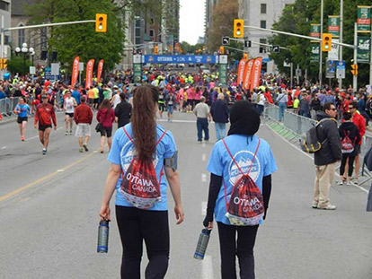 Ottawa Race Weekend Runners: Seyma Uran Ran for Islamic Relief Canada