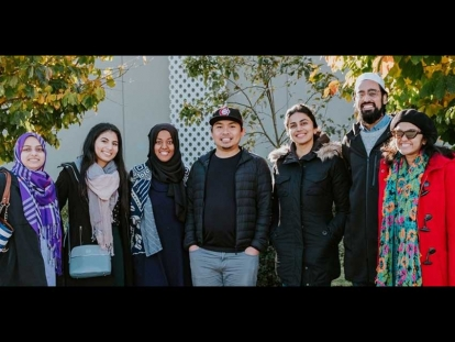 Members of the 2019 Cohort of the Muslim Community Fellowship