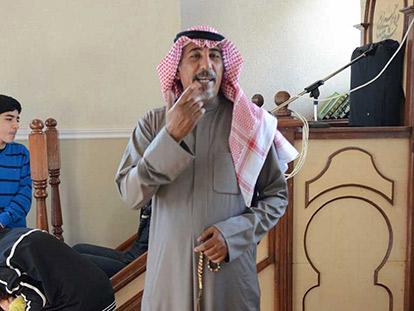 """...I have Arabian horses."" - Abu Ahmed"