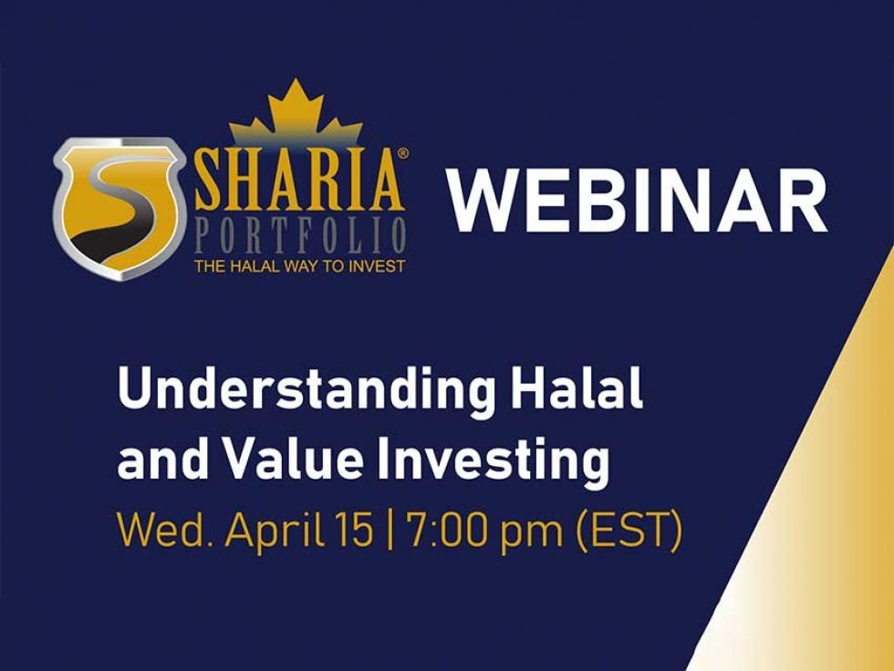 Watch ShariaPortfolio Canada's Understanding Halal and Value Investing Webinar