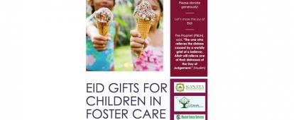 Eid Gifts for Muslim Children in Foster Care in Ottawa