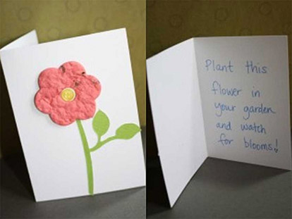 Make Eid cards that you can plant!