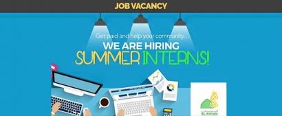 Al Rayan Islamic Centre Student Summer Jobs