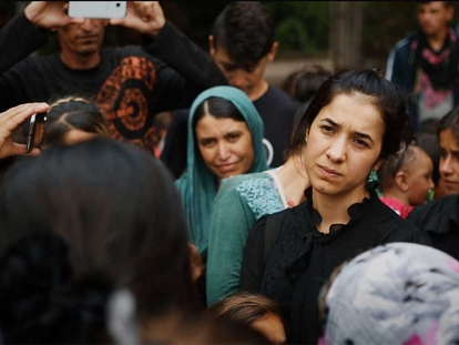 "The documentary ""On Her Shoulders"" follows Yazidi human rights activist Nadia Murad."