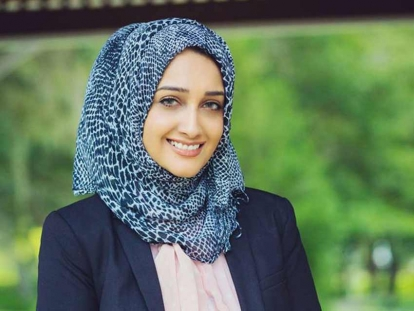 Zainab Merchant is a Muslim-American Harvard graduate student from Florida.