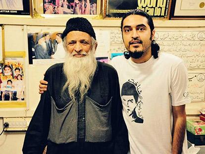 Pakistani Canadian Azhar Rizvi and Edhi