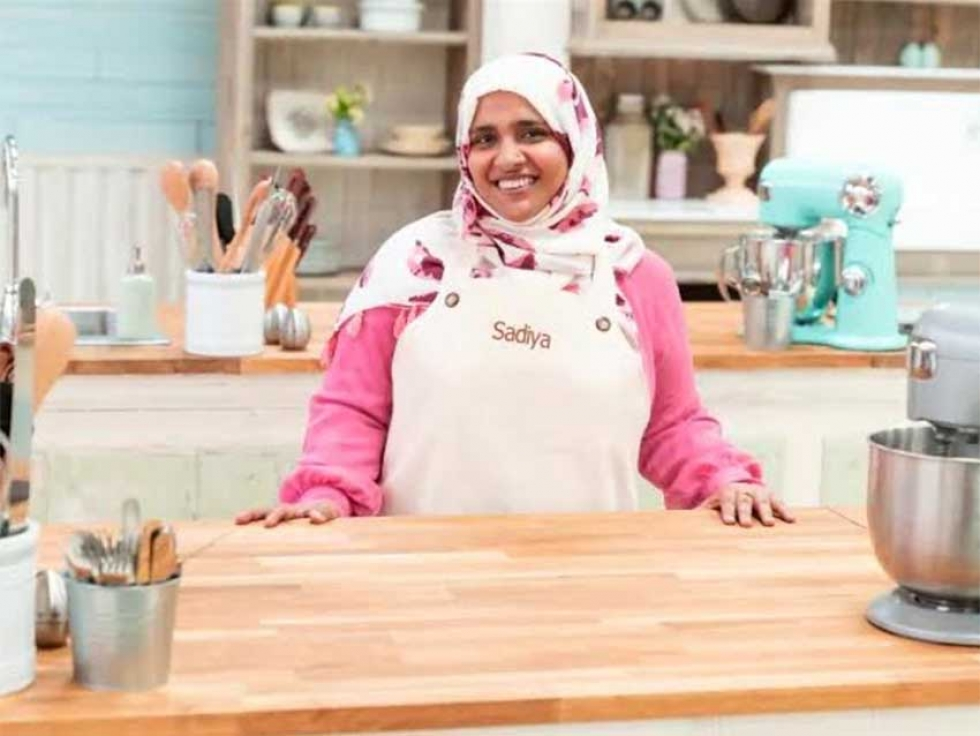 Pakistani Canadian Sadiya Hashmi from Edmonton is one of the amateur bakers competing CBC's The Great Canadian Baking Show.