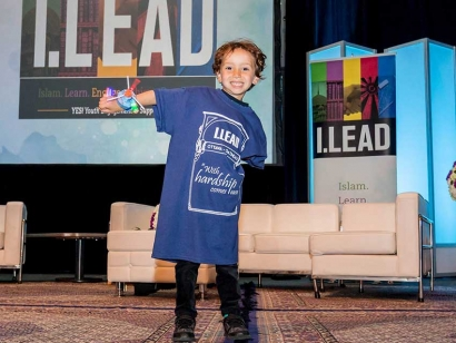 An young attendee from last year's I.LEAD Conference.