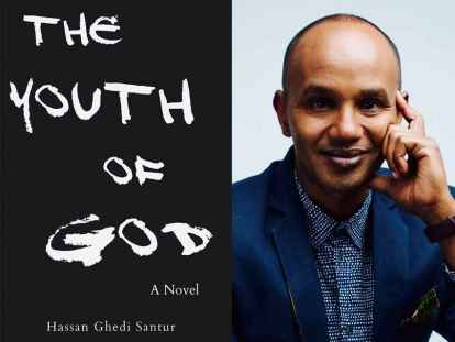 Somali Canadian Journalist Hassan Ghedi Santur is Touring Canada with His Latest Novel The Youth of God