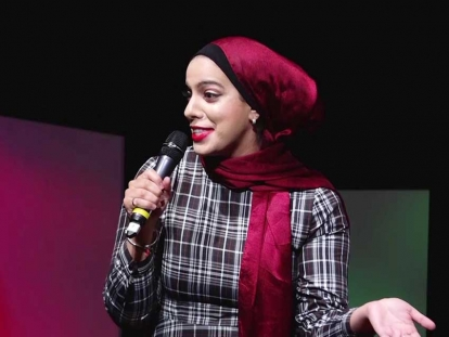 Salma Hindy on People Pleasing at TEDxUofT 2019