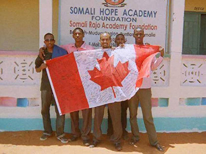 The Somali Hope Academy, which offers educational opportunities to Somali children in need, is an example of the development work being done in Somalia by the Canadian Somali diaspora. To learn more visit www.shaf.ca