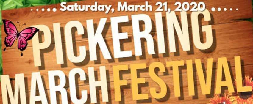 Become a Vendor at the Pickering Spring Festival