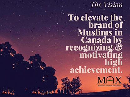 Celebrating Muslim Canadian Achievement: The MAX Gala