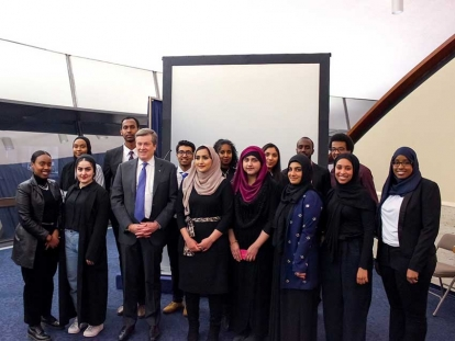 The launch of the second cohort of Muslim Youth Fellows in 2019.