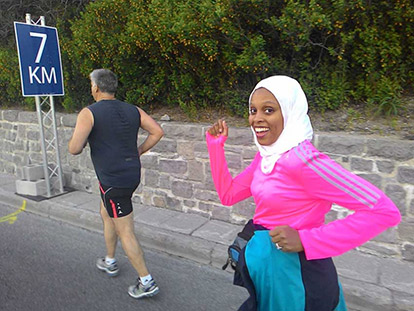Ottawa Race Weekend Runners: Fireda Ahmed on Perseverance, Faith, and Inspiration