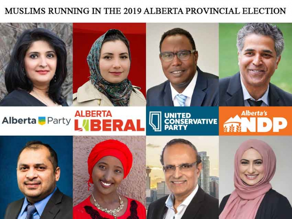 Muslim Canadians Running in the 2019 Alberta Provincial Election