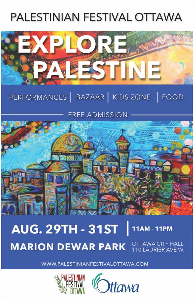 Festival Brings Palestine & Fair Trade to the Heart of Ottawa