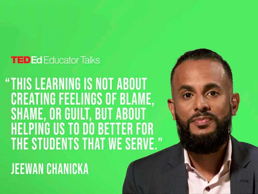 Jeewan Chanicka on Affirming Student's Identity at TED Educator Talks