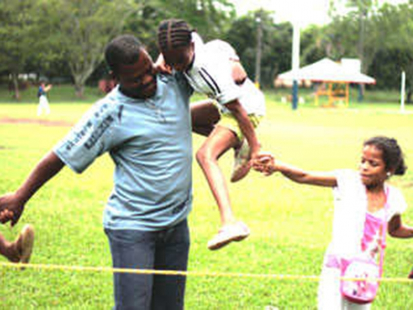 Innovative programme keeps dads involved with kids
