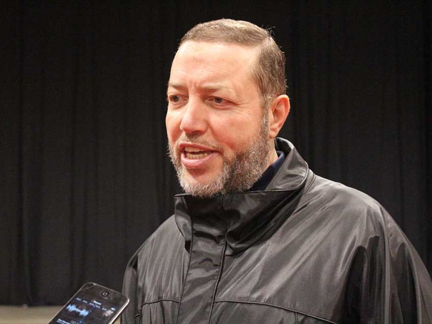 Adel Elmaghrabi from Ottawa at the 2014 Reviving the Islamic Spirit Conference in Toronto.