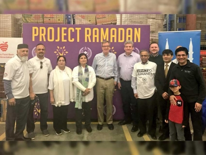 Muslim Welfare Centre and Project Ramadan came to Ottawa on April 22nd to work in partnership with the Ottawa Food Bank to build over 100 food baskets with the help of local volunteers and city officials, including Mayor Jim Watson.