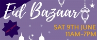 Adoreline Event Management will be organizing a multicultural Eid Bazaar Inshallah on Saturday, June 9, 2018 at SNMC.