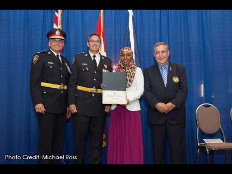 Urge Ibrahim: Could she be Ottawa's first hijabi police officer?