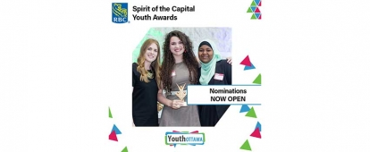 Nominate an Inspiring Ottawa Youth for the RBC Spirit of the Capital Youth Awards